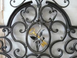 grille-ferronerie-clef
